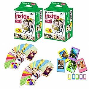 Fuji Instax Mini Instant Film Decorative Skin Stick-on Stickers for Fuji Instax Mini 8 and SP-1