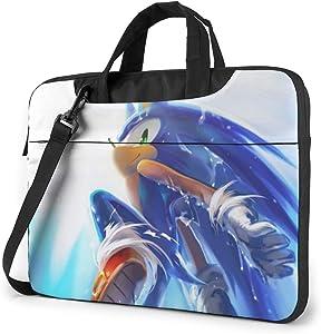 15.6 Inch Laptop Bag So-nic The Hedgehog Laptop Briefcase Shoulder Messenger Bag Case Sleeve