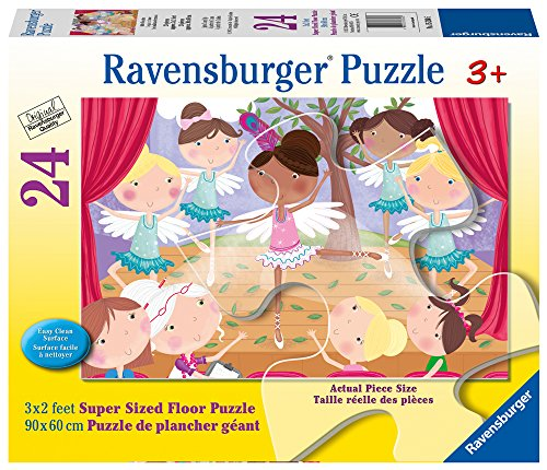 - Ravensburger Ballet Beauties Super Sized Floor Puzzle 24 Piece Jigsaw Puzzle for Kids – Every Piece is Unique, Pieces Fit Together Perfectly