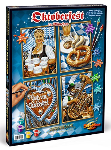 Schipper Munich Oktoberfest Paint-by-Number Kit