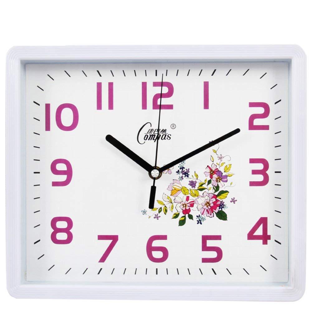 Jundonglilai 創造的な柱時計、居間の現代水晶時計を消しなさい (Color : D, サイズ : 12inch) 12inch D B07QTGZM3V