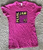 #9: Pearl Jam 2018 ladies t shirt hot pink size large seattle chicago boston tour new