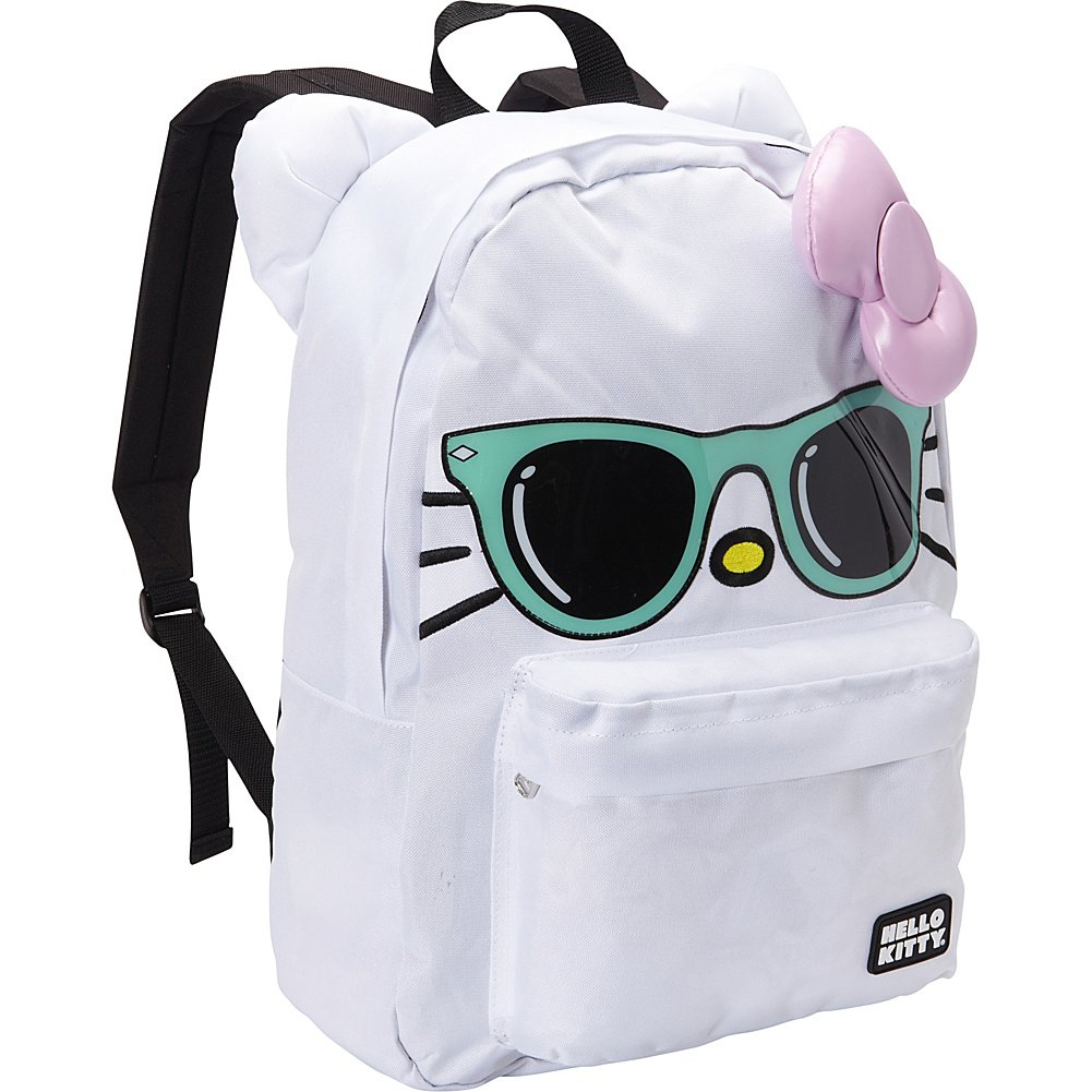 Hello Kitty Mint Sunglasses/Pink Bow Face Backpack   B00JYCGXME