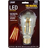 Feit BPST19/LED 60W 466-Lumen 2200K LED Vintage Light