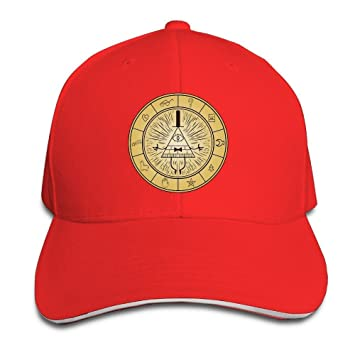 Hittings Unisex Gravity Falls Bill Cipher Adjustable Snapback Baseball Cap  Red One Size Red  Amazon.co.uk  Sports   Outdoors ea1e4503cdae