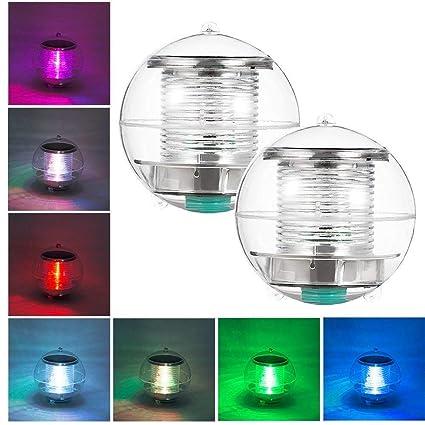 Eletorot Luz del estanque luz flotante Luces de Flotante Luz sumergible Flotante Estanque Piscina Ligero luz ...