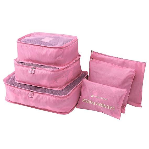 Amazon.com: Excursion - Juego de 6 bolsas de almacenamiento ...