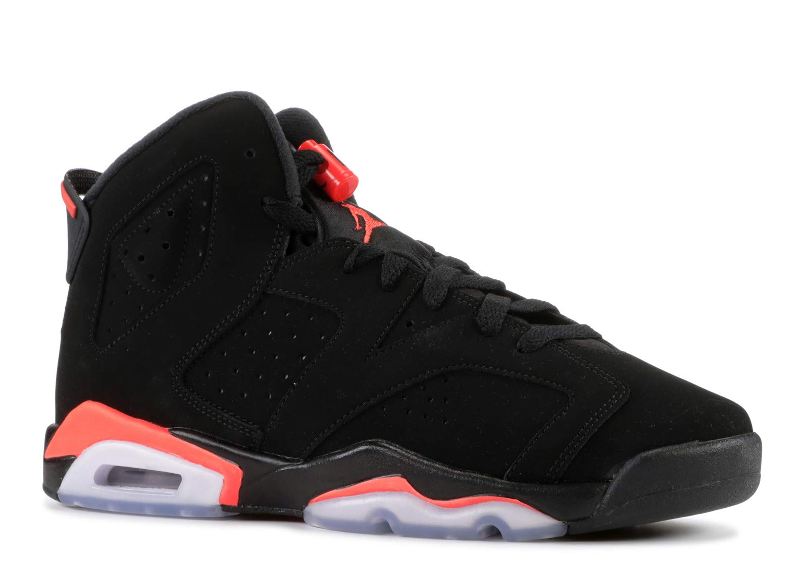 Nike Air Jordan Retro 6''Infrared Black/Infrared (GS) (6.5 M US Big Kid)