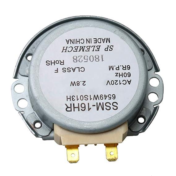 Yibuy 6549W1S013K AP4650099 - Motor giratorio para ...