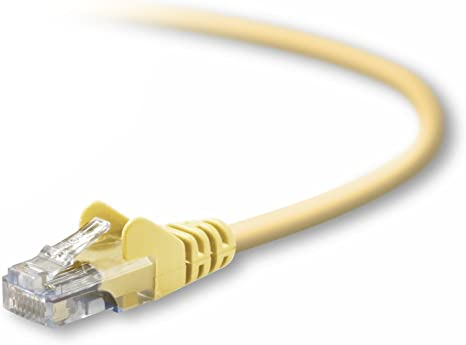 Yellow Belkin 7-Feet RJ45 Patch Cable A3L791b07-YLW-S
