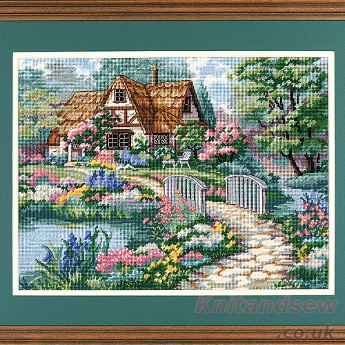nt Kit -cottage Retreat (Cottage Needlepoint)