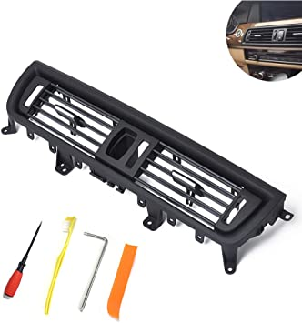 Car Front Console Grill Dash AC Air Vent for 2010-2017 BMW 5 Series