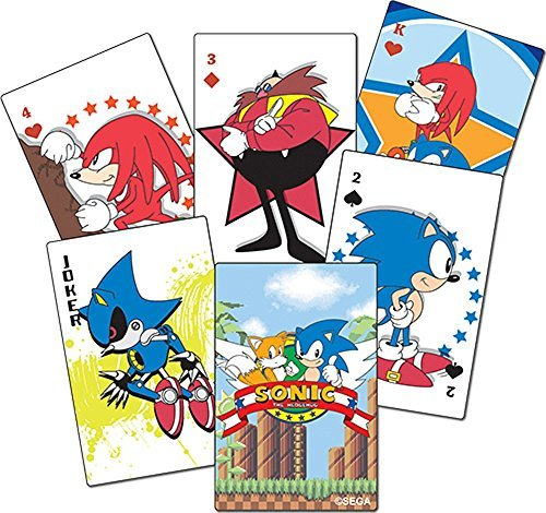 Sonic Classic - Playing Cards Goodies
