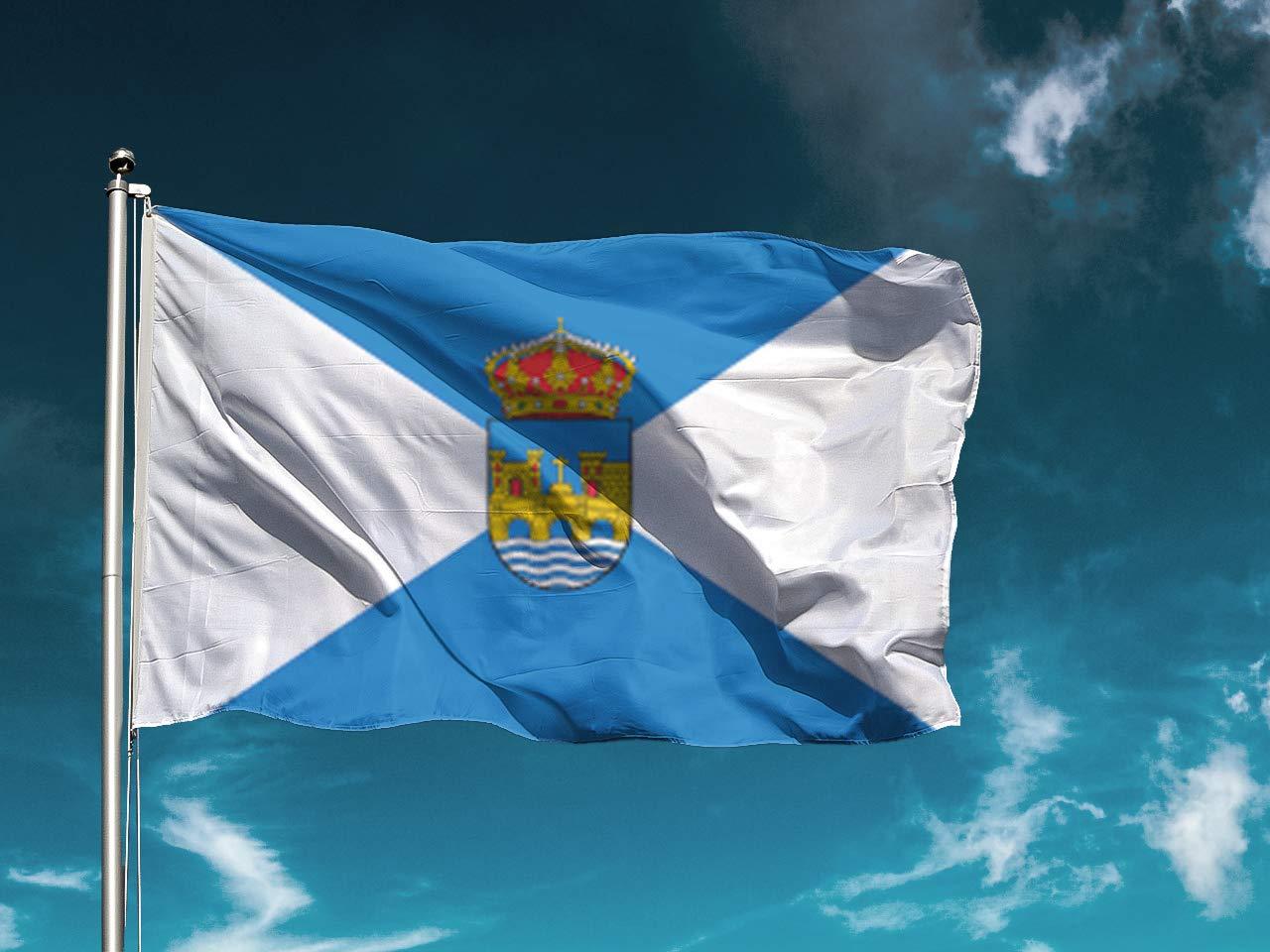 G I Bandera Pontevedra | Medidas 150cm x 85cm | Fácil ...