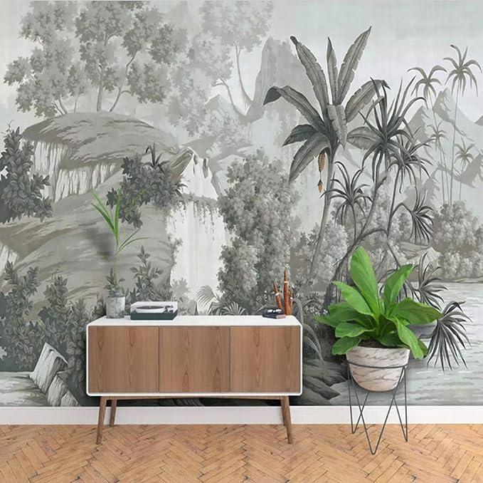 Custom 3D Photo Wallpaper Picture European Style Retro ...