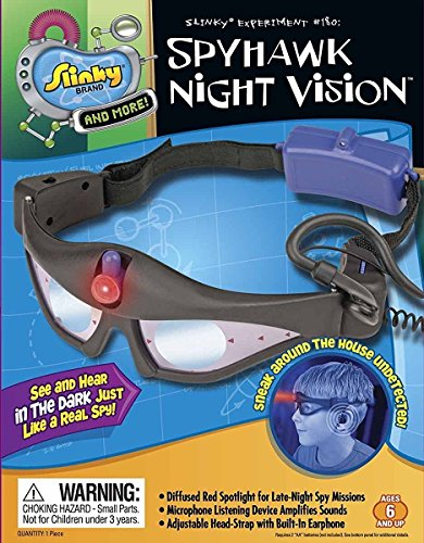 ble for all Sizes Night Vision Goggles for Age 6 and Up (Spy Ear Listening Device)