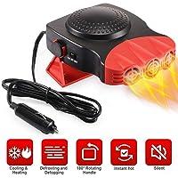 $23 » Portable Car Heater, Auto Electronic Heater Fan Fast Heating Defrost 12V 150W Car Heater, Plug…
