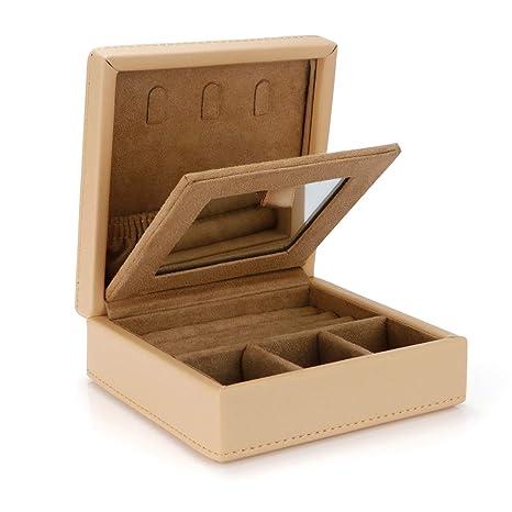 LELADY Caja para Joyas, Joyero Caja de Joyas, Organizador de ...