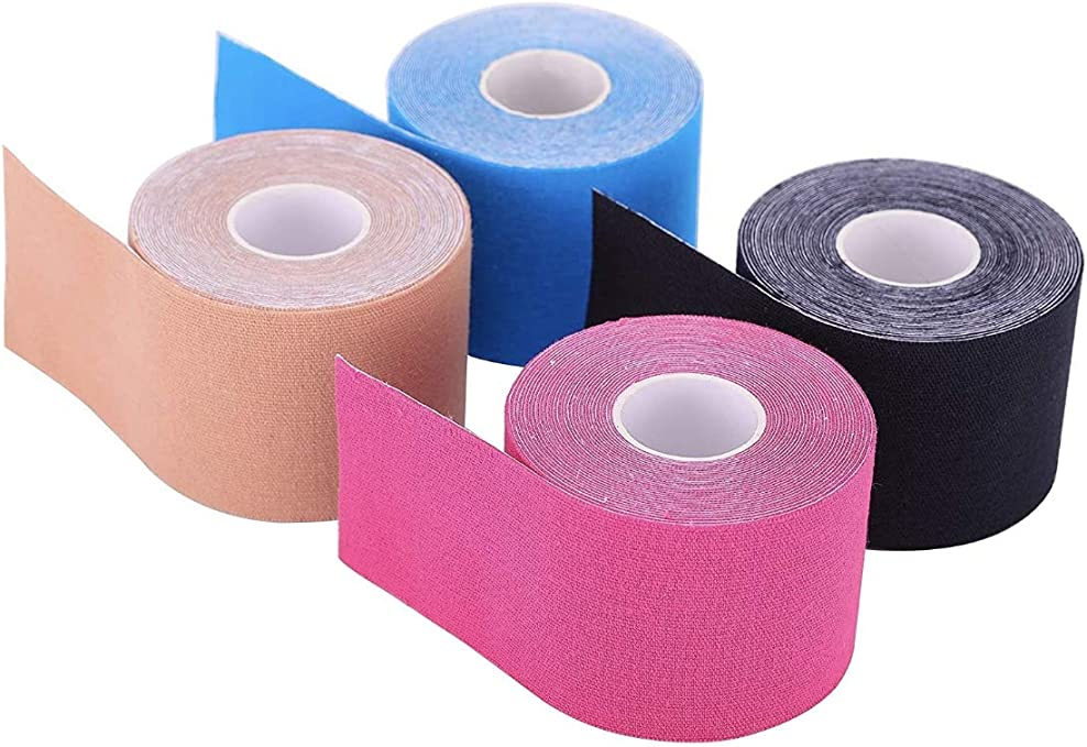 100/% cotton Kinesiology tape 5cm x 5m different colours sports therapy