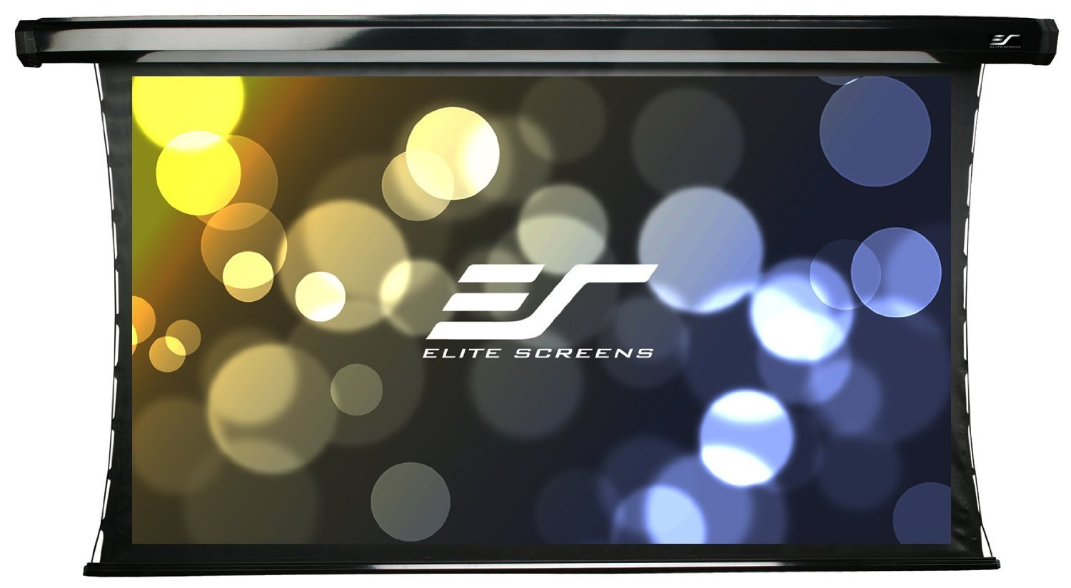 Elite Screens CineTension2, 120-inch 16:9, 4K/8K Tab-Tensioned Electric Drop Down Projection Projector Screen, TE120HW2-E36