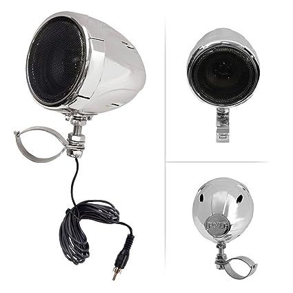 amazon com: pyle motorcycle speaker and amplifier system - 100 watt  weatherproof w/two 3