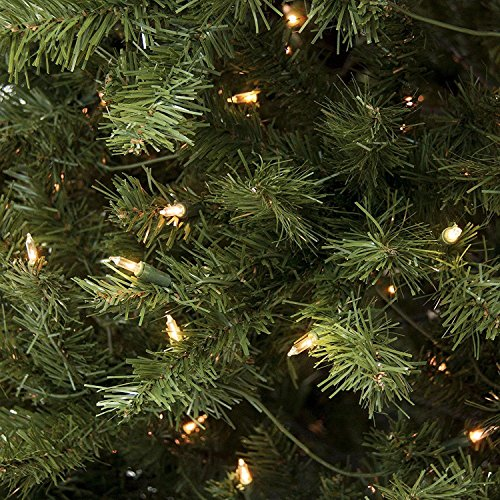 ACCELIFT 7.5' Ft Prelit Premium Spruce Hinged Artificial Christmas Tree W/ 550 Clear Lights And Stand by ACCELIFT (Image #2)