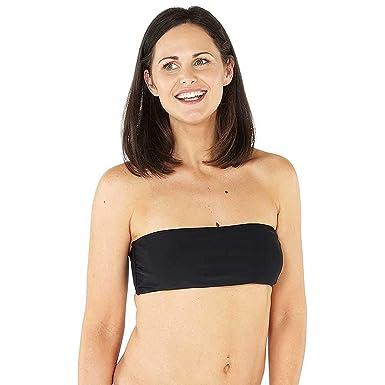 55c11d6294 Women's Girls Mix & Match Swimwear Bikini Top Briefs Bottoms Bandeau High  Waist Triangle: Amazon.co.uk: Clothing