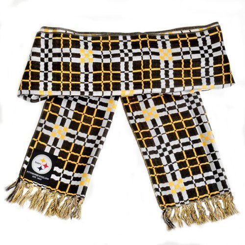 Pittsburgh Steelers Checkered Scarf by Forever Collectibles