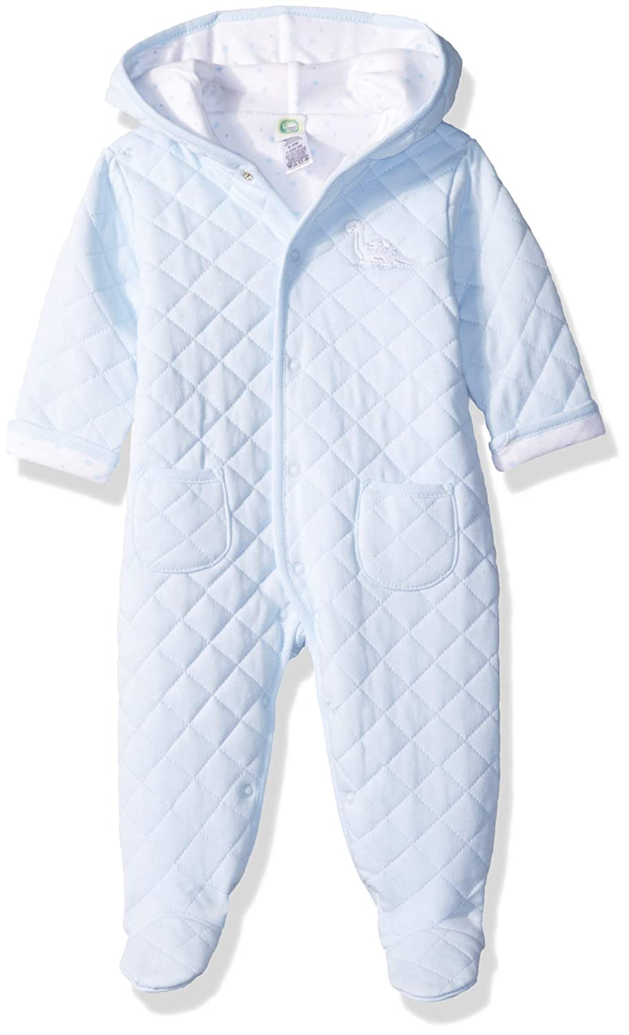 Little Me Baby Boys Quilted Pram, LLQ07086N