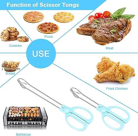 Pinzas de cocina de madera con clip para alimentos Shumo