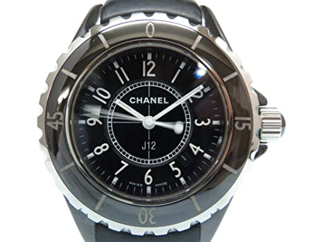 pretty nice 6ea14 3577f Amazon | (シャネル)CHANEL H0680 J12 クオーツ 腕時計 ...