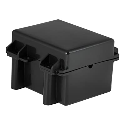 CURT 52027 5-Inch x 3-3/8-Inch x 3-3/4-Inch Watertight Trailer Breakaway Battery Case: Automotive