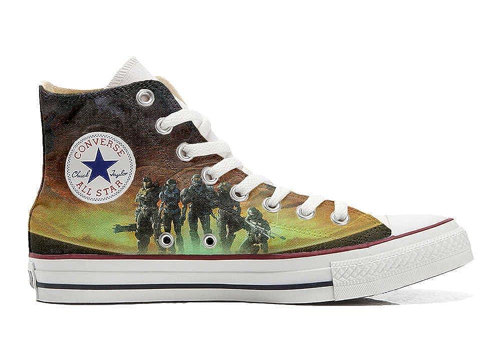 Converse All Star personalisierte Schuhe (Custom Produkt) Soldaten im Krieg B01N10U5J1 Basketballschuhe Clever und praktisch