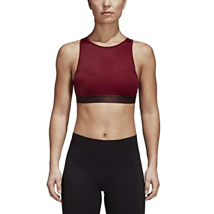 2f60a7c18cefa Amazon.com  adidas Training Halter Bra 2.0  Sports   Outdoors
