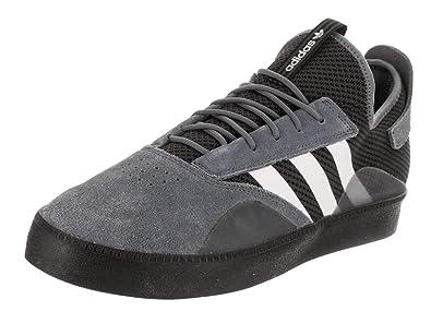sale retailer ba6f7 4bbb5 adidas Mens 3ST.001 OnixWhiteBlack Skate Shoe 12 Men US