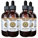 Anise Star Liquid Extract, Organic Anise star (Illicium verum) Tincture 4x4 oz