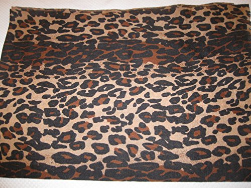 CASHMERE SHAWL -ANIMAL PRINT (CHOCOLATE LEOPARD) by Cashmere Pashmina Group (Image #2)