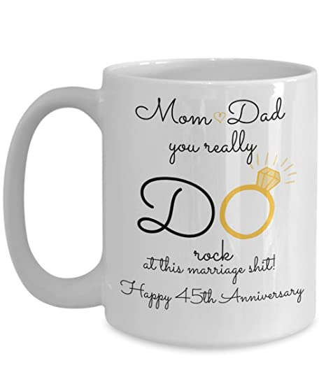 Amazon 45th Wedding Anniversary Gift For Parents Mom And Dad