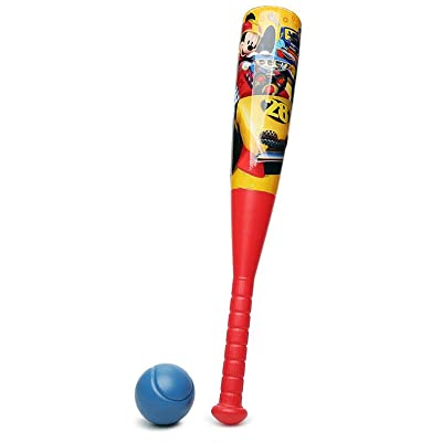 Disney Mickey Mouse Roadsters Bat & Ball: Toys & Games