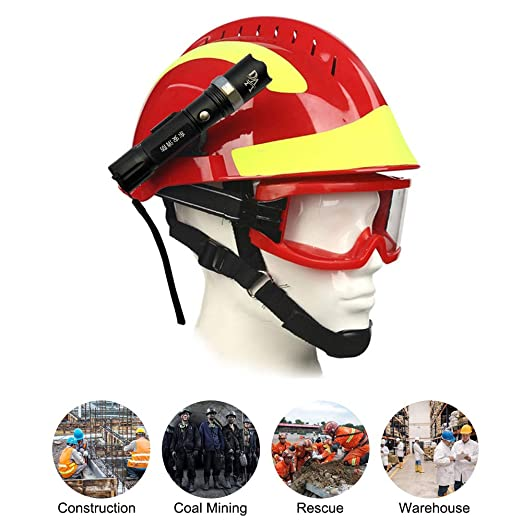 Extaum Rescue Helmet F2 Emergency Fire Fighter Cascos de Seguridad ...