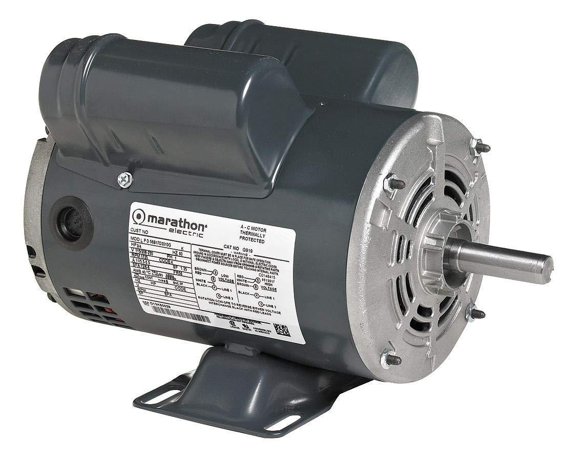 Air Compressor Motor, 7-1/2 HP, 37.5-34.5A