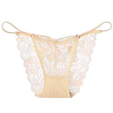 16fe417bb7f Women s Lace Lingerie Sexy High Cut Underwear Women Floral Pattern Transparent  Soft Lace Briefs Lingerie Knickers