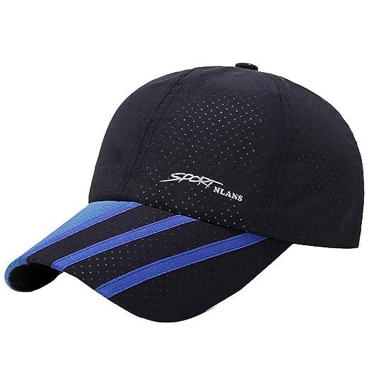 dd875a6038f CSSD Fashion Baseball Caps For Men Outdoor Sport Golf Gentleman Style Sun  Hats (Navy)