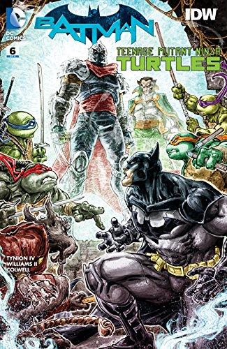 Batman/Teenage Mutant Ninja Turtles (2015-2016) #6
