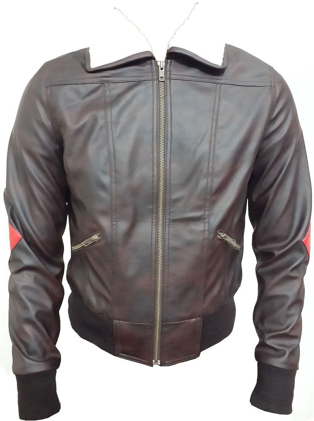 Fashion Xone Womens Celebrity Costume Faux Leather Jacket Sale Offer