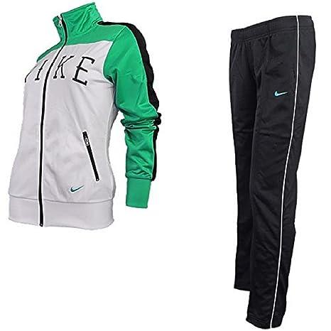 Nike POLYWARP Tracksuit W 534040 100/Sport Traje - Chándal para ...