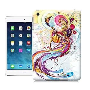 Longcase Colourful Phoenix Painting Tpu High Quality Case Cover For Ipadmini