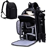 CADeN Camera Bag Sling Backpack for DSLR/SLR Mirrorless Camera Waterproof, Camera Case Compatible for Sony Canon Nikon…