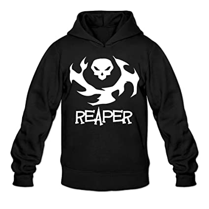 Overwatch Mens Reaper Hoodies Hooded Sweatshirt Size S Black