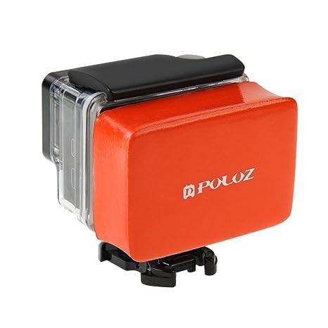Caja de flotador flotante Puerta trasera cinta adhesiva anti Sink para GoPro Hero 3 3 +